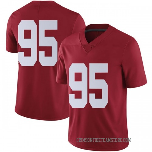 Youth Nike Johnny Dwight Alabama Crimson Tide Limited Crimson Football College Jersey