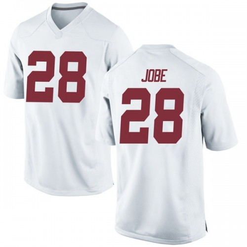 Youth Nike Josh Jobe Alabama Crimson Tide Game White Football College Jersey