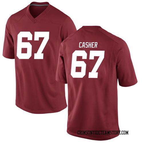 Youth Nike Joshua Casher Alabama Crimson Tide Game Crimson Football College Jersey