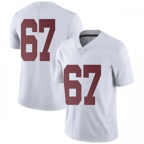 Youth Nike Joshua Casher Alabama Crimson Tide Limited White Football College Jersey