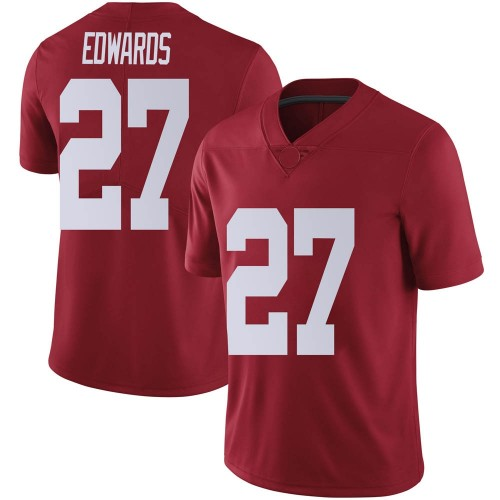 Youth Nike Kyle Edwards Alabama Crimson Tide Limited Crimson Football College Jersey