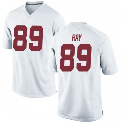Youth Nike Labryan Ray Alabama Crimson Tide Game White Football College Jersey