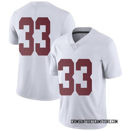 Youth Nike Landon Fuller Alabama Crimson Tide Limited White Football College Jersey