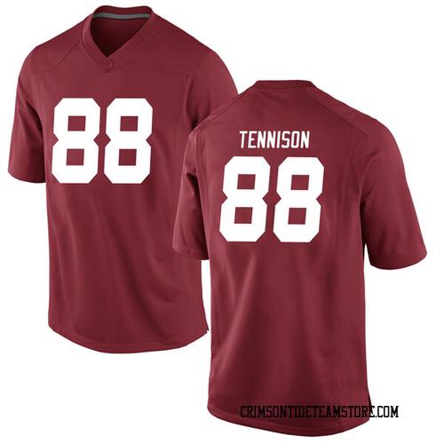 Youth Nike Major Tennison Alabama Crimson Tide Replica Crimson Football College Jersey