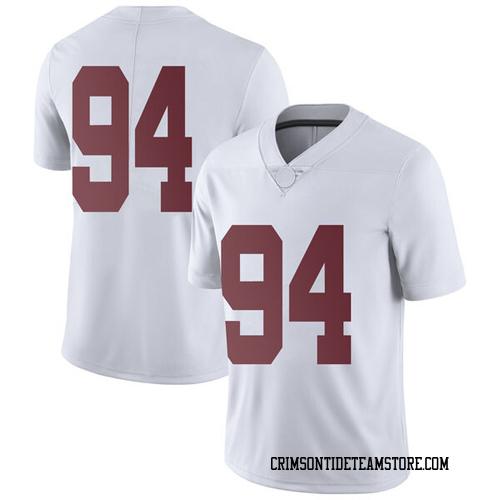 Youth Nike Mario Osborne Jr. Alabama Crimson Tide Limited White Football College Jersey