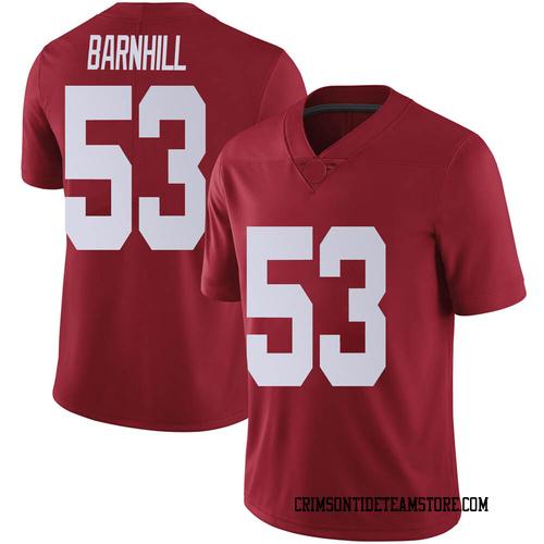 Youth Nike Matthew Barnhill Alabama Crimson Tide Limited Crimson Football College Jersey