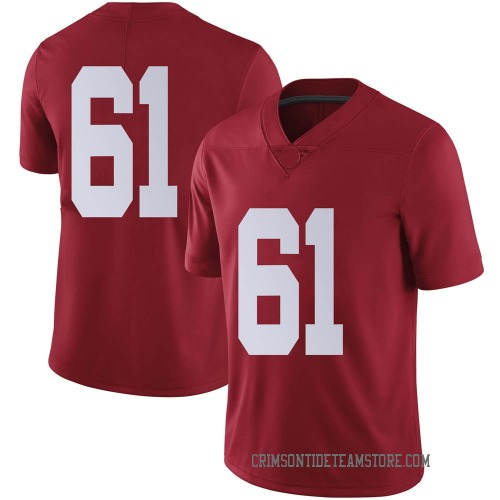 Youth Nike Nathan Jones Alabama Crimson Tide Limited Crimson Football College Jersey