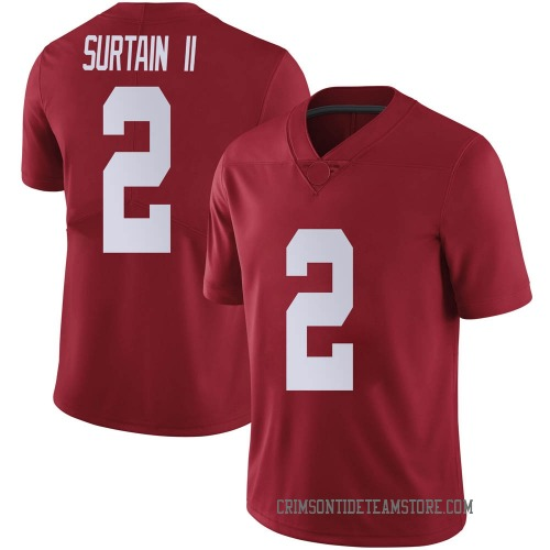 Youth Nike Patrick Surtain II Alabama Crimson Tide Limited Crimson Football College Jersey