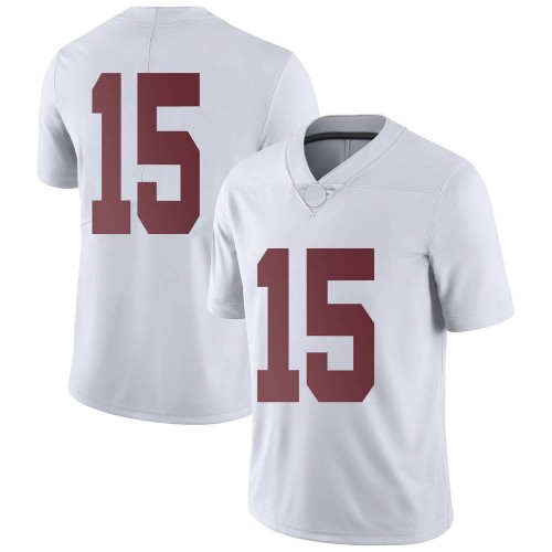 Youth Nike Paul Tyson Alabama Crimson Tide Limited White Football College Jersey