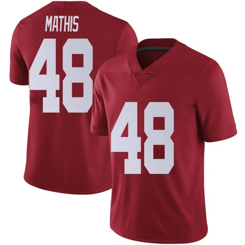 Youth Nike Phidarian Mathis Alabama Crimson Tide Limited Crimson Football College Jersey