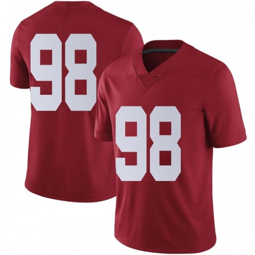 Youth Nike Preston Knight Alabama Crimson Tide Limited Crimson Football College Jersey