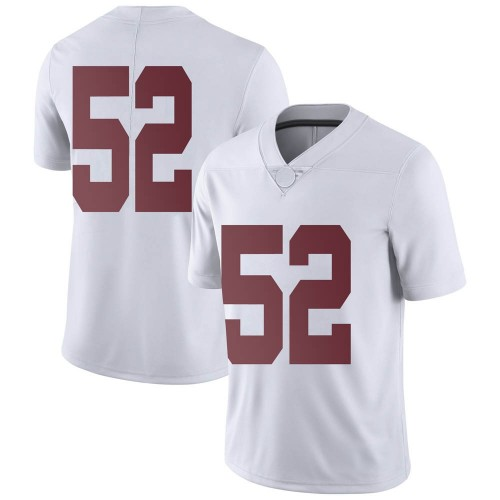 Youth Nike Preston Malone Alabama Crimson Tide Limited White Football College Jersey
