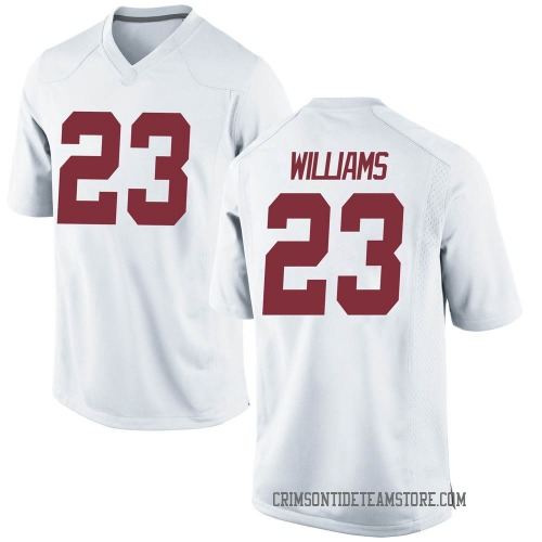 Youth Nike Roydell Williams Alabama Crimson Tide Game White Football College Jersey
