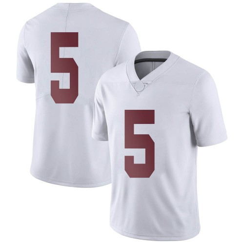 Youth Nike Taulia Tagovailoa Alabama Crimson Tide Limited White Football College Jersey