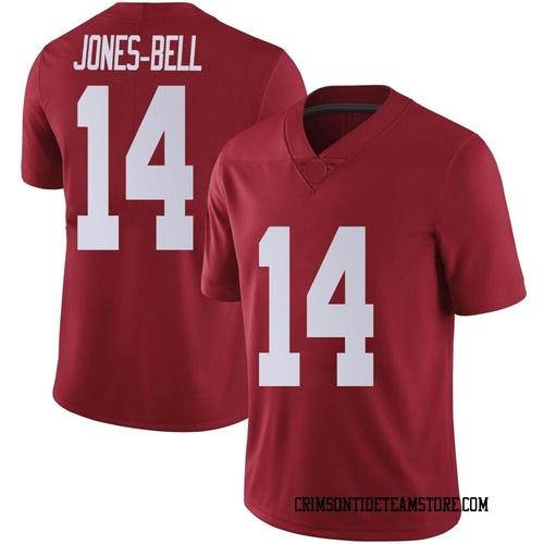 Youth Nike Thaiu Jones-Bell Alabama Crimson Tide Limited Crimson Football College Jersey