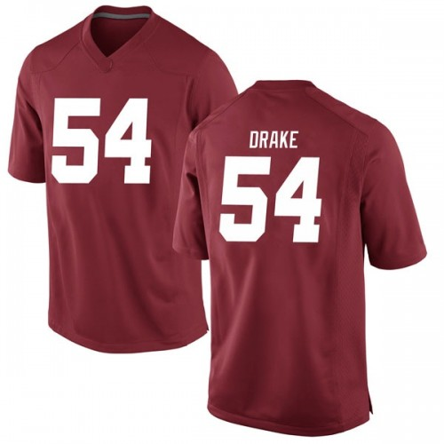 Youth Nike Trae Drake Alabama Crimson Tide Game Crimson Football College Jersey