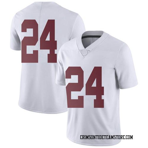 Youth Nike Trey Sanders Alabama Crimson Tide Limited White Football College Jersey
