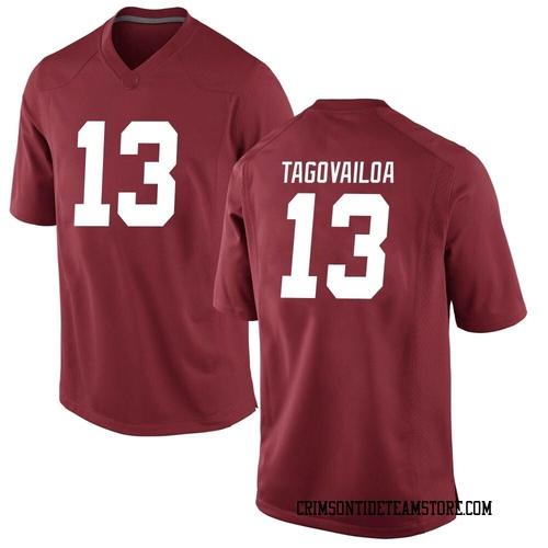 Youth Nike Tua Tagovailoa Alabama Crimson Tide Replica Crimson Football College Jersey
