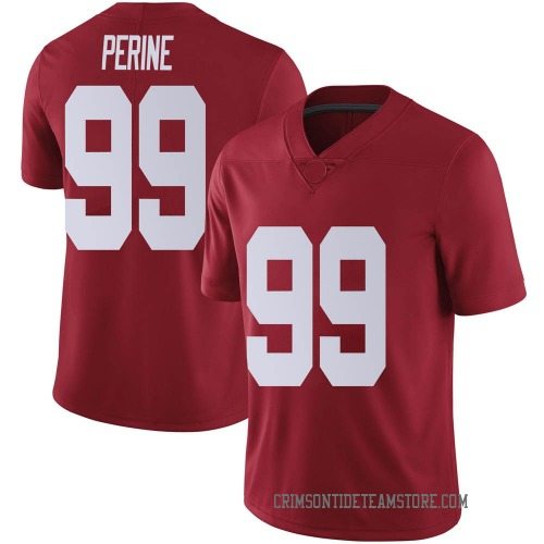 Youth Nike Ty Perine Alabama Crimson Tide Limited Crimson Football College Jersey