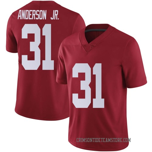 Youth Nike Will Anderson Jr. Alabama Crimson Tide Limited Crimson Football College Jersey