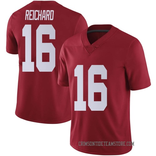 Youth Nike Will Reichard Alabama Crimson Tide Limited Crimson Football College Jersey