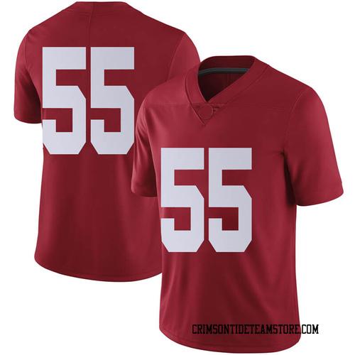 Youth Nike William Cooper Alabama Crimson Tide Limited Crimson Football College Jersey